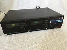 Vintage Sansui Stereo Dual Cassette Deck D-W9 FOR REPAIR NEEDS NEW BELTS