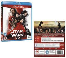 STAR WARS 8 (2017) - VIII THE LAST JEDI - 3D + 2D BLU-RAY + BONUS DISC - All Reg