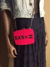 """Collectors Edition Chanel """"Je Ne Suis"""" Evening In The Street Clutch 12K"""