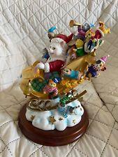 """Danbury Mint Purrfect Takeoff Cat Figurine w/Box - apx 10"""" tall by Bill Bell"""