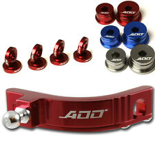 ADD W1 Short Shifter + Base Bushings + Cable Bushings for Honda SI EP3 RED