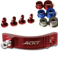 ADD W1 Short Shifter + Base Bushings + Cable Bushings for Honda SI EP3 RED