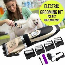 Electric Pet Clipper Dog Hair Trimmer Low-Noise Pet Dog Shaver Cut Machine Set