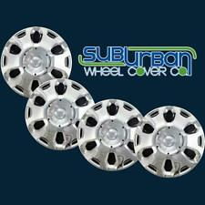 """2010-2013 Ford Transit Connect # 500-15C 15"""" Chrome Replacement Hubcaps SET 4"""