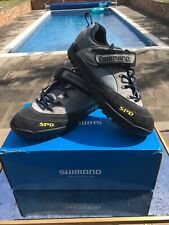 Shimano Mountain Bike Shoes Size 45 Un-Used Good condition NEW FITTED SPD CLEATS