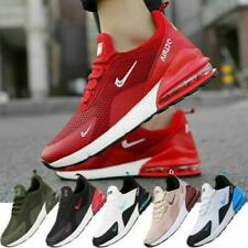 New Mens Womens Sneakers Air Cushion Running Outdoor Breathable Sport Shoes Size