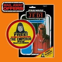 "Vintage style Kenner STAR WARS ""FREE! The EMPEROR"" MailAway Offer 3.5"" patch"
