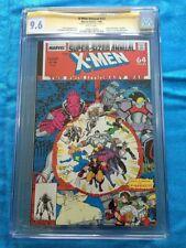 X-Men Annual 12 Marvel CGC SS 9.6 NM Signed Art Adams 1st app X-babies Wolvie