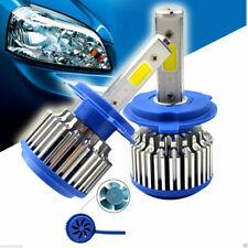 COPPIA LAMPADE FARI RICAMBIO AUTO H7 LED 3600 LUMEN 6000K 12V 40W CON VENTOLA