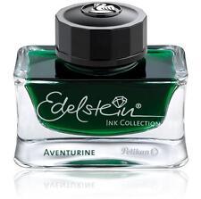 50ml Bottle Pelikan Edelstein Fountain Pen Ink, ADVENTURINE (green)