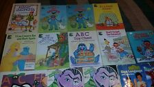 Lot of 12 Sesame Street Children's Picture Books Some are Vintage