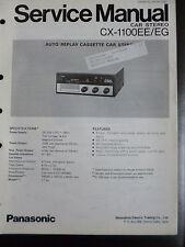 ORIGINALI service manual Panasonic cx-1100ee/eg