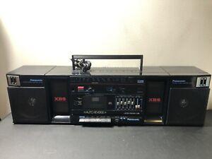 Panasonic RX-C38 Stereo Cassette Vintage Boombox Extra Bass Am/Fm Cassette Japan
