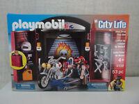 Playmobil City Life 9108 Bike Shop Play Box - Neu & OVP
