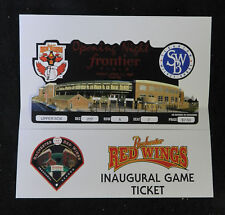 1997 ROCHESTER RED WINGS AAA BASEBALL FRONTIER FIELD OPENING NIGHT TICKET