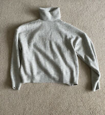 H&M Grey Roll Neck Jumper - Size L