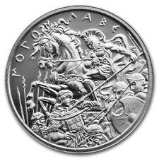 2 oz .999 Fine Silver High Relief Round - Molon Labe Type 6 Type VI - IN STOCK!!