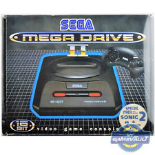 1 Box Protector for Mega Drive II 2 Game Console Sega 0.5mm Plastic Display Case