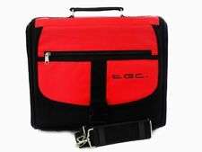 New Nintendo Wii U Red & Black Deluxe Console Carry Bag Case In Car UK Seller