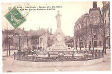 CPA 21 - DIJON (Côte d'Or) - Place Grangier - Monument élevé à la mémoire de M.