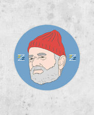 Steve Zissou Sticker! Life Aquatic, bill murray, team zissou, wes anderson Z