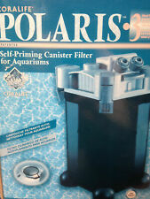 Polaris Self-Priming Canister Filters for Aquariums by Coralife (20 and 45 gal+)