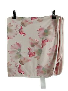 Ted Baker baby girls blanket Flamingo  print  vg Condition