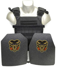 CATI AR500 BODY ARMOR CQB Plates Active Shooters Combo Sentry Black ONLY at CATI