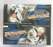 2005-06 Upper Deck Power Play Factory Sealed Hobby Hockey Box