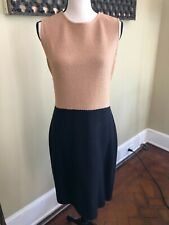 ST. JOHN NWT Biscuit Black Dress Size 8  > 75% off