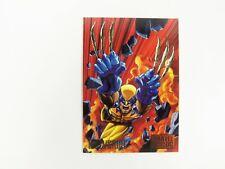 1995 Marvel Versus DC Adam Kubert Comic Trading Card Wolverine  #14