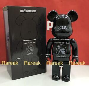 Medicom Bearbrick AE Project 1/6 Centurion 400% Black card be@rbrick