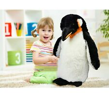 24 Inch Giant Plush Standing Emperor Penguin Soft Stuffed Teddy Lifelike Toy