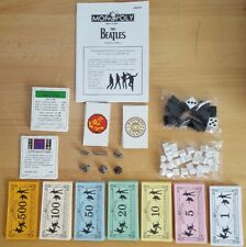 The Beatles Monopoly USAopoly Replacement Game Pieces Money Houses Titles Hotels