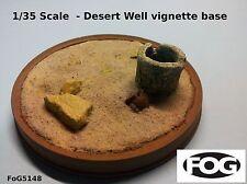 1/35 Scale  - Desert Well vignette base - 130mm diameter display base
