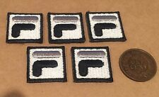 New Authentic 5 x Vintage 90's Sew On FILA Embroidery Patch Logo !