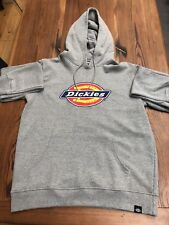 Dickies Heather Grey Hoodie Sweater BN Size XL