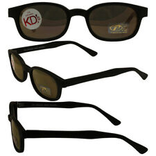 e3ede5245f Pacific Coast Original KD s Biker Sunglasses with Gold Mirror Lenses