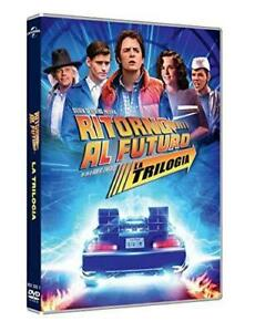 Ritorno Al Futuro Trilogia 35 Anniversario Box 3 Dvd Da Collezione Idea Regalo O