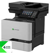 Lexmark CX727de All-In-One-Farblaser (4 1), Rete, Fronte/Retro, 4-j. Garanzia