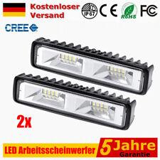 2x LED Arbeitscheinwerfer 48W 16LEDs SUV Strahler Flutlicht Nebel Lampe LKW 12V