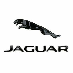 Black Emblem Rear Badge Decal Sets Fit Jaguar XF XJ XK XJR XJS E X S Gloss TYPE