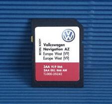 RNS 315 Dernières navigation V9 Carte SD AZ Pour West Europe UK 2017/18 VW SEAT SKODA