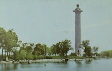 C.1930's-40's SOHIO Perry Monument, Put-In-Bay, Ohio Postcard F101