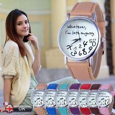 Moderno Simple Mujer Reloj Mujer Informal Piel Artificial Cuarzo Relojes Pulsera