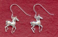 Sterling Silver Horse Earrings Pony New solid 925 Foal colt jewellery jewelry