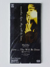 """Martika/Love...Thy Will Be Done + 1 (Japan 3"""" CD/SEALED)"""