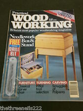 PRACTICAL WOODWORKING - NEEDLEWORK BOX & STAND - MAY 1992
