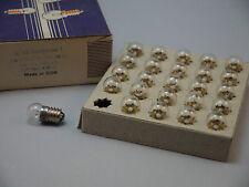 10 Taschenlampenbirnen Ersatzbirnen Zwergenbirnen 3,8V 0,07A  DDR E10 Glühbirnen