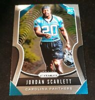 2019 Panini Prizm JORDAN SCARLETT Rookie Card RC CAROLINA PANTHERS